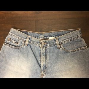 Levi's Shorts - Vintage Levi's Light Blue Boyfriend Fit Jean Short